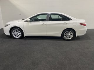 2017 Toyota Camry ASV50R Atara S White 6 Speed Sports Automatic Sedan.