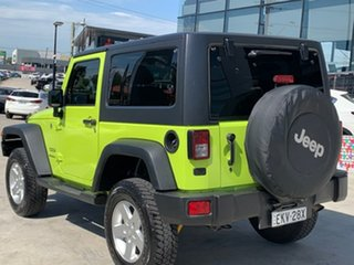 2016 Jeep Wrangler JK MY17 Sport Green 5 Speed Automatic Softtop