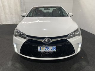 2017 Toyota Camry ASV50R Atara S White 6 Speed Sports Automatic Sedan