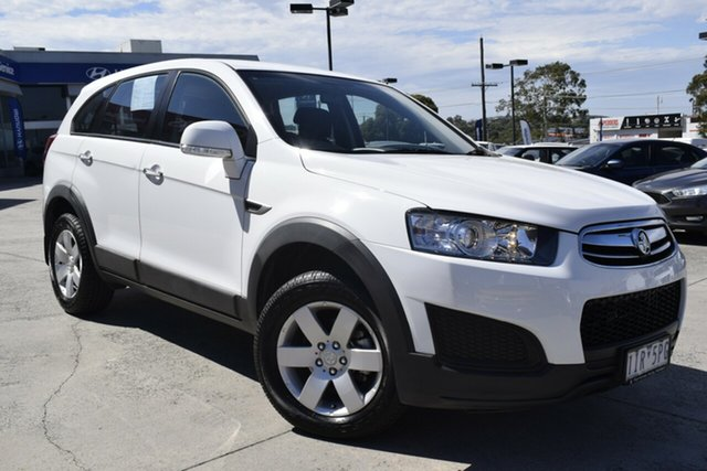 Used Holden Captiva CG MY16 LS 2WD Ferntree Gully, 2015 Holden Captiva CG MY16 LS 2WD White 6 Speed Sports Automatic Wagon