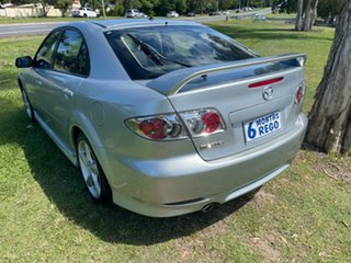 2004 Mazda 6 GG1031 MY04 Luxury Silver 4 Speed Sports Automatic Hatchback