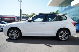 2016 BMW X3 F25 MY17 Update xDrive20d Alpine White 8 Speed Automatic Wagon