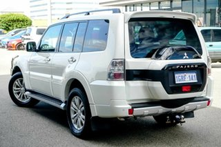 2016 Mitsubishi Pajero NX MY16 GLS White 5 Speed Sports Automatic Wagon.