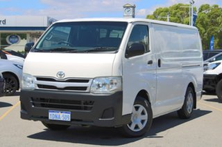 2010 Toyota HiAce TRH201R MY10 LWB White 5 Speed Manual Van.