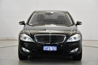 2007 Mercedes-Benz S-Class W221 MY07 S500 Black 7 Speed Sports Automatic Sedan.