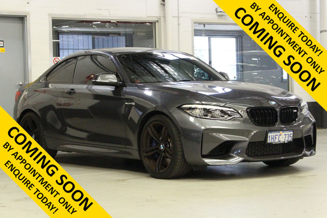Used BMW M2 F87 MY18 Bentley, 2018 BMW M2 F87 MY18 Grey 7 Speed Auto Dual Clutch Coupe