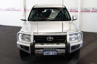 2008 Toyota Landcruiser VDJ200R GXL Silver Pearl 6 Speed Sports Automatic Wagon.