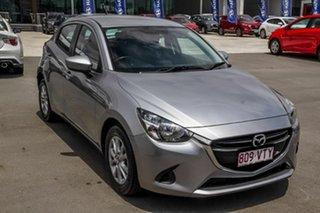2015 Mazda 2 DJ2HAA Maxx SKYACTIV-Drive Grey 6 Speed Sports Automatic Hatchback.