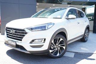 2020 Hyundai Tucson TL3 MY21 Highlander AWD Platinum Silver 8 Speed Sports Automatic Wagon.