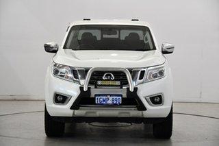 2017 Nissan Navara D23 S2 ST-X King Cab Silver 6 Speed Manual Utility.