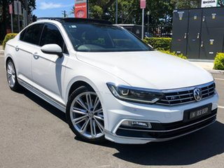2015 Volkswagen Passat 3C (B8) MY16 140TDI DSG Highline White 6 Speed Sports Automatic Dual Clutch.