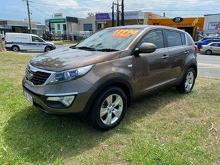 2014 Kia Sportage SL Series II MY13 SI Brown 5 Speed Manual Wagon.