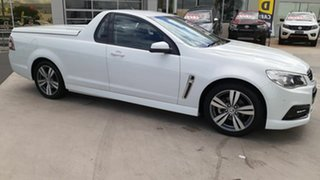 2013 Holden Ute VF MY14 SV6 Ute White 6 Speed Sports Automatic Utility