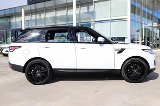 2016 Land Rover Range Rover Sport L494 16MY SE White 8 Speed Sports Automatic Wagon.