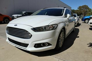 2016 Ford Mondeo MD Trend White 6 Speed Sports Automatic Dual Clutch Wagon