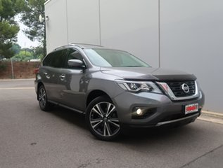 2017 Nissan Pathfinder R52 Series II MY17 Ti X-tronic 2WD Grey 1 Speed Constant Variable Wagon.