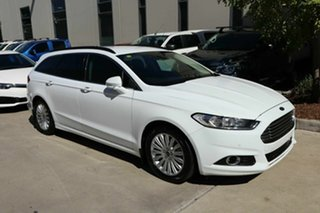 2016 Ford Mondeo MD Trend White 6 Speed Sports Automatic Dual Clutch Wagon.