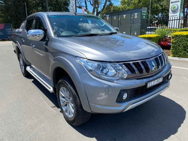 Used Mitsubishi Triton MQ MY18 GLS Double Cab Botany, 2018 Mitsubishi Triton MQ MY18 GLS Double Cab Grey 5 Speed Sports Automatic Utility