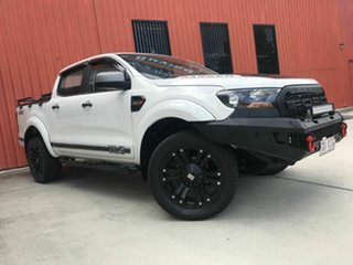 2016 Ford Ranger PX MkII XLS Double Cab White 6 Speed Manual Utility