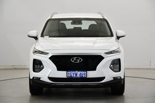 2020 Hyundai Santa Fe TM.2 MY20 Active White Cream 8 Speed Sports Automatic Wagon.