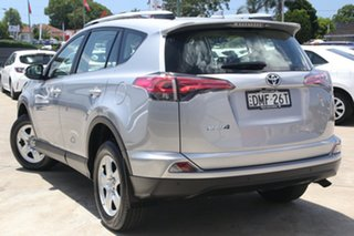 2016 Toyota RAV4 ZSA42R GX 2WD Silver Sky 7 Speed Constant Variable Wagon.