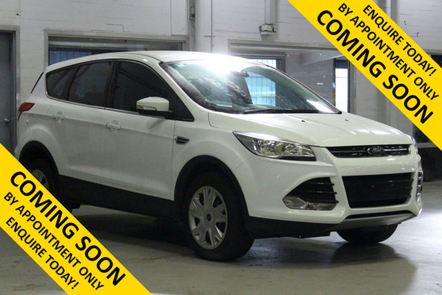 Used Ford Kuga TF MK 2 Ambiente (FWD) Bentley, 2016 Ford Kuga TF MK 2 Ambiente (FWD) White 6 Speed Automatic Wagon