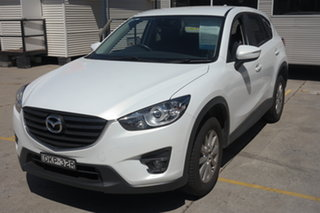 2016 Mazda CX-5 KE1072 Maxx SKYACTIV-Drive Sport White 6 Speed Sports Automatic Wagon.