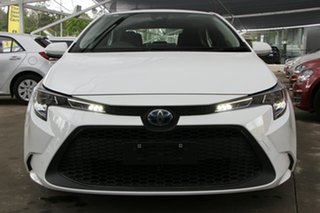 2019 Toyota Corolla ZWE211R Ascent Sport E-CVT Hybrid White 10 Speed Constant Variable Sedan Hybrid