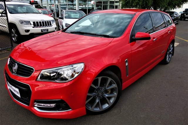 Used Holden Commodore VF MY14 SS V Sportwagon Seaford, 2014 Holden Commodore VF MY14 SS V Sportwagon Red 6 Speed Sports Automatic Wagon