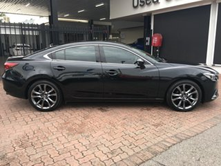 2015 Mazda 6 GJ1032 GT SKYACTIV-Drive Black 6 Speed Sports Automatic Sedan.