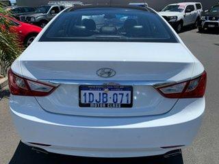 2010 Hyundai i45 YF Premium White 6 Speed Sports Automatic Sedan.