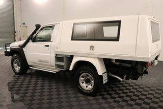 2013 Nissan Patrol GU 6 Series II DX White 5 speed Manual Cab Chassis