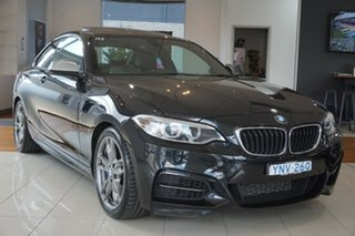 2014 BMW 2 Series F22 M235I Black 8 Speed Sports Automatic Coupe.