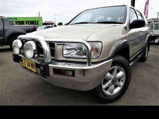 1999 Nissan Pathfinder ST (4x4) Gold 4 Speed Automatic 4x4 Wagon.
