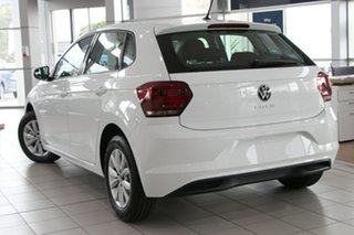 2020 Volkswagen Polo AW MY21 85TSI DSG Comfortline White 7 Speed Sports Automatic Dual Clutch.