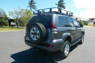 2003 Toyota Landcruiser Prado KZJ120R GXL Grey 5 Speed Manual Wagon.