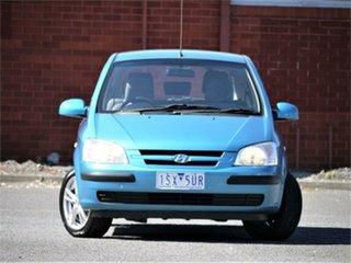 2004 Hyundai Getz TB GL Blue Manual Hatchback.