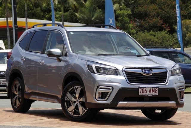 Demo Subaru Forester S5 MY21 2.5i-S CVT AWD Newstead, 2020 Subaru Forester S5 MY21 2.5i-S CVT AWD Ice Silver 7 Speed Constant Variable Wagon