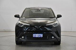 2019 Toyota C-HR NGX50R Koba S-CVT AWD Black 7 Speed Constant Variable Wagon.