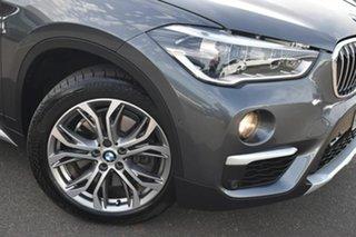 2015 BMW X1 F48 xDrive20d Steptronic AWD Grey 8 Speed Sports Automatic Wagon.