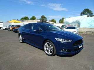 2017 Ford Mondeo MD 2017.50MY Titanium Blazer Blue 6 Speed Sports Automatic Hatchback.