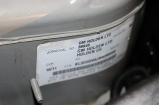 2011 Holden Captiva CG Series II 5 AWD Grey 6 speed Automatic Wagon