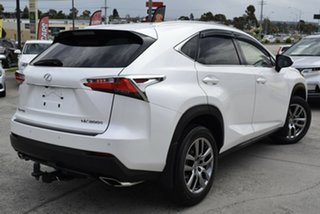 2017 Lexus NX AGZ10R NX200t 2WD Luxury White 6 Speed Sports Automatic Wagon