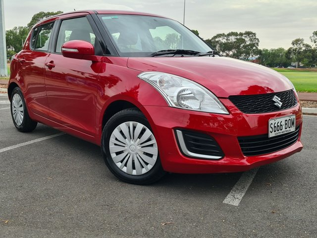 Used Suzuki Swift FZ MY15 GL Nailsworth, 2016 Suzuki Swift FZ MY15 GL Red 4 Speed Automatic Hatchback
