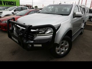 2016 Holden Colorado RG MY16 LT (4x4) Silver 6 Speed Automatic Crew Cab Pickup.