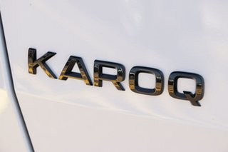 2020 Skoda Karoq NU MY21 140TSI DSG AWD Sportline Moon White 7 Speed Sports Automatic Dual Clutch
