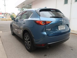 2019 Mazda CX-5 KF4WLA GT SKYACTIV-Drive i-ACTIV AWD Blue 6 Speed Sports Automatic Wagon