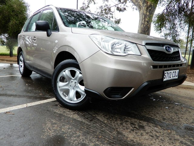 Used Subaru Forester S4 MY14 2.5i Lineartronic AWD Glenelg, 2014 Subaru Forester S4 MY14 2.5i Lineartronic AWD Burnished Bronze 6 Speed Constant Variable Wagon