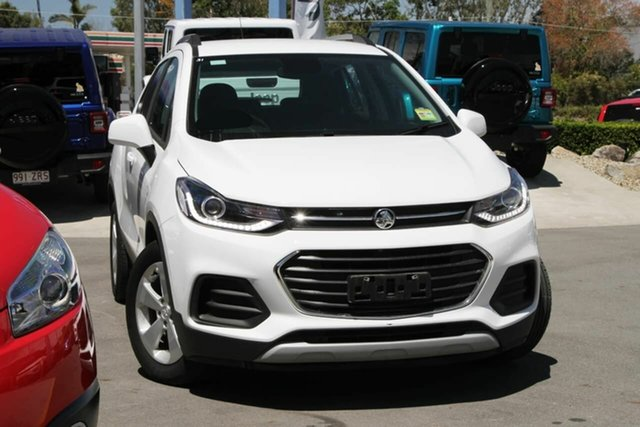 Used Holden Trax TJ MY19 LS Aspley, 2019 Holden Trax TJ MY19 LS White 6 Speed Automatic Wagon