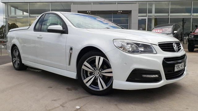 Used Holden Ute VF MY14 SV6 Ute Liverpool, 2013 Holden Ute VF MY14 SV6 Ute White 6 Speed Sports Automatic Utility